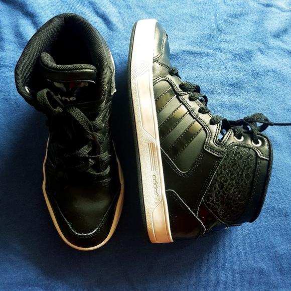 adidas neo scarpe nere poshmark